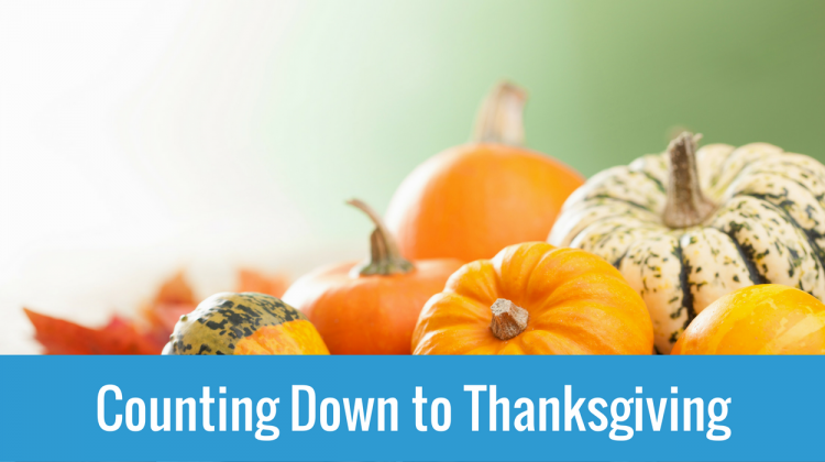I Am Thankful For The Will To Change (1 Day to Thanksgiving)