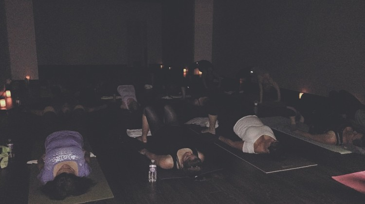 Donation-based Candlelit Flow Class