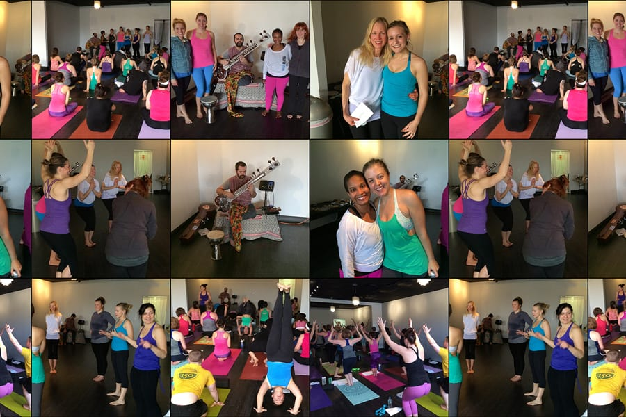 Fun times at Mind Body Flow Yoga in Buffalo, NY
