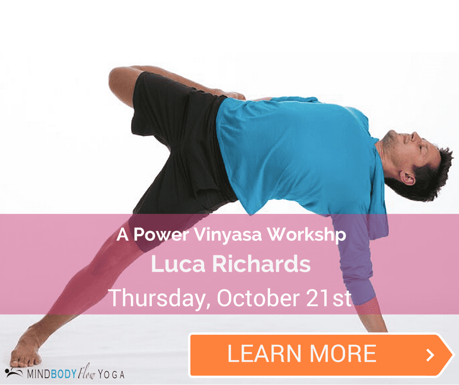 Powerful Vinyasa Workshop with Luca Richards