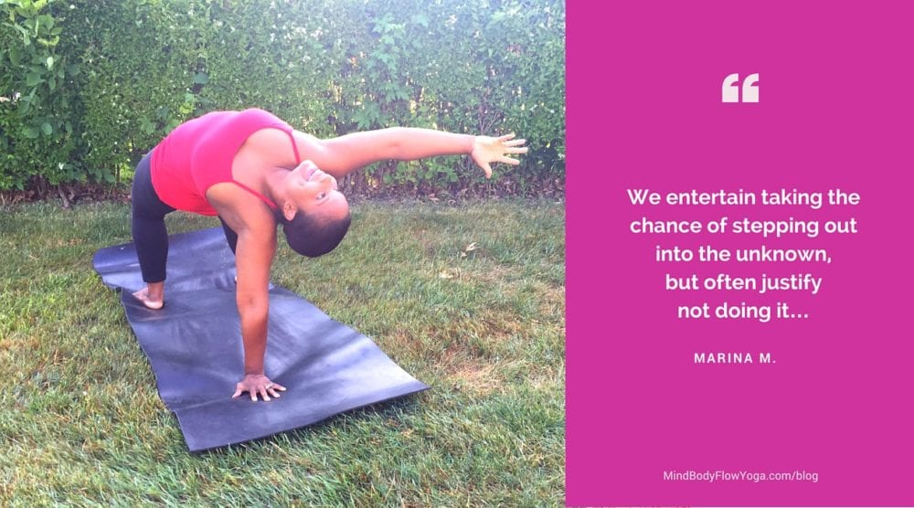 the power of courage in your yoga practice marina mukandala in flip dog pose camatkarasana
