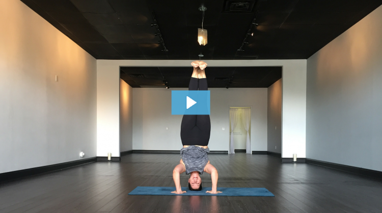 Laurie Adornetto Owns Tripod Headstand Pose