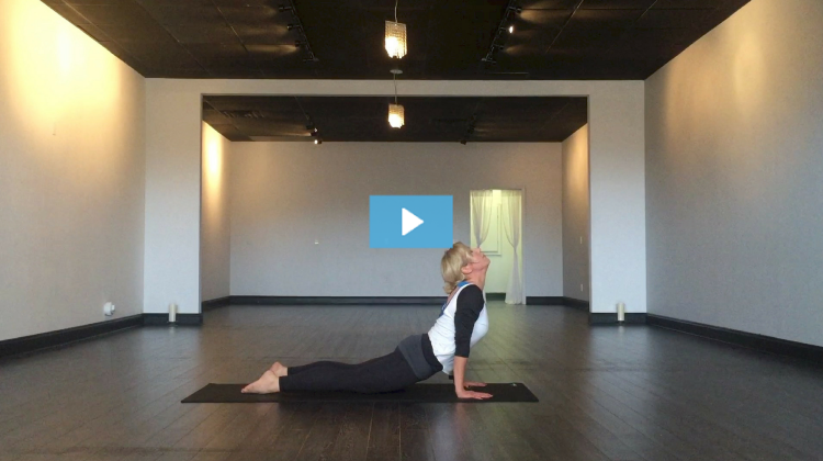Holly Adornetto Owns Upward Facing Dog Pose