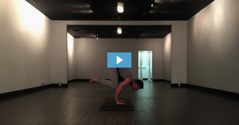 [VIDEO] Eric Buser Owns Crow Pose