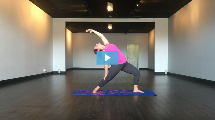 [VIDEO] Sarah Lojacono Owns Peaceful Warrior Pose