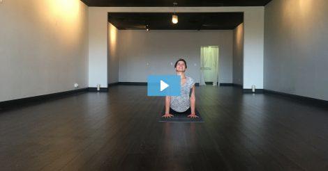 [VIDEO] Gina Owns Upward Facing Dog