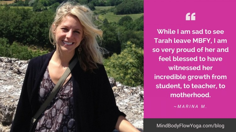 Our Very Own, Tarah Frey, Departing from MBFY