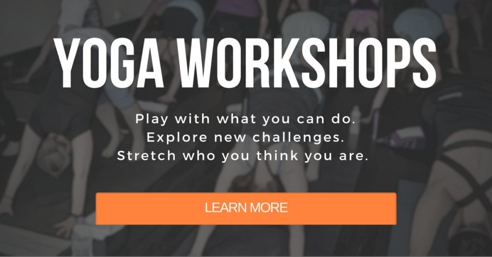 Upcoming Yoga Workshops